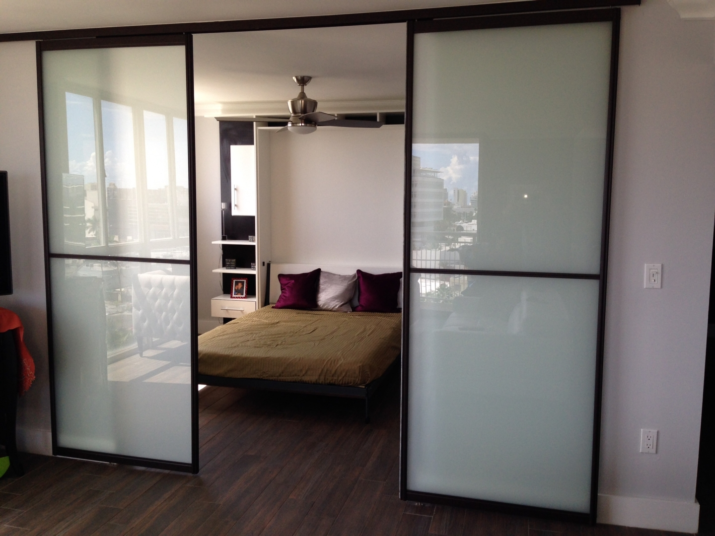 Sliding door interior sliding doors miami sliding door for Custom sliding doors