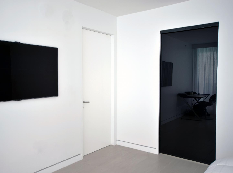 Swing doors custom modern furniture in miami for Custom closet doors miami