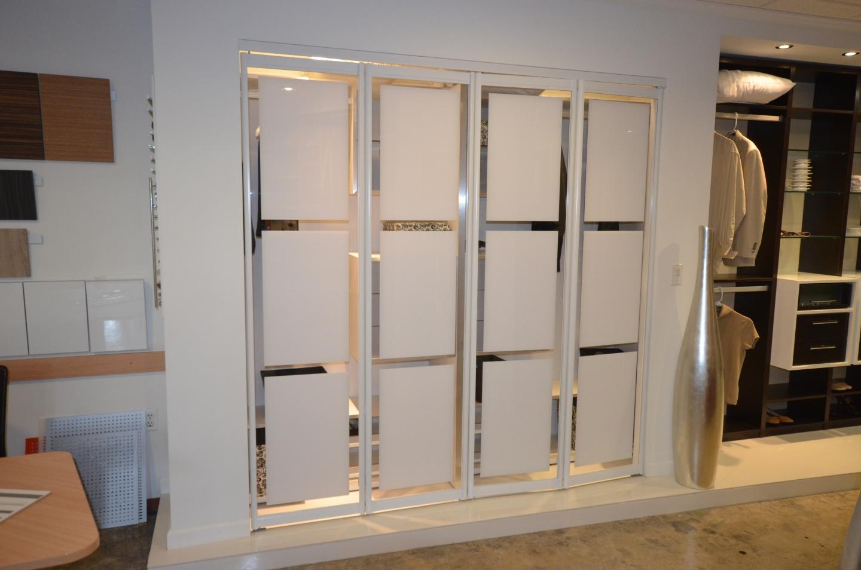 Sliding bifold custom modern furniture in miami for Custom closet doors miami