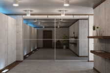 Custom modern sliding doors 12